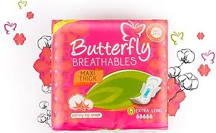 Butterfly Maxi Thick Extra Long Pads