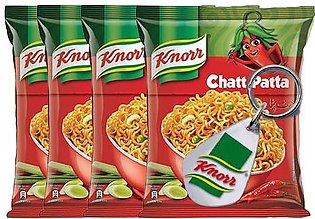 BUY 4 Knorr Noodles Chatt Patta 66g and GET Knorr Key Chain FREE