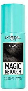 L'Oreal Paris Magic Retouch Root Touch Up Hair Color Spray Black