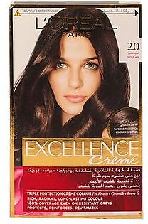 Loreal Paris Excellence Cream 2.0 Deep Black Hair Color