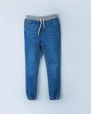 Pull-up Jeans