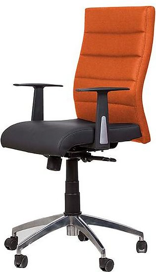 Office Chair Aeon For Managers in Orange and Black Colour