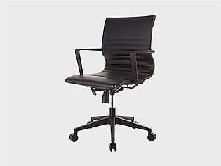 Manager Chair Black (Pvc)