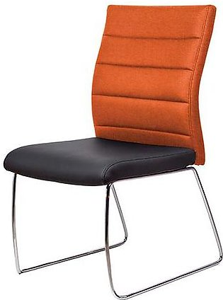 Office Chair Aeon For Visitors In Orange And Black Colour