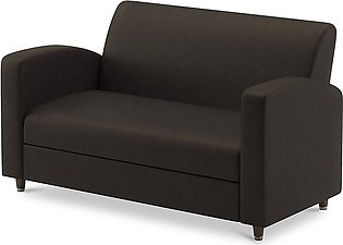 Club 2 Seater Sofa in Sand Charcoal Grey Color