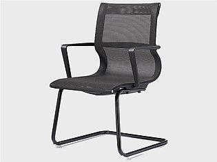 Visitor Chair Grey (Mesh)