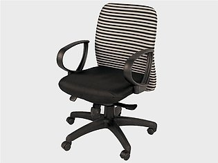 Manager Medium Back Chair (Striped Back)