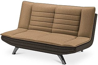 Sofa Cum Bed Faith in Beige and Brown Colour