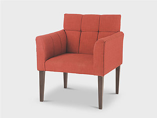 Sofa Chair Urban 1 Seater (Red)