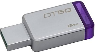 Kingston 8GB USB 3.0 Metal Flash Drive (DT50)