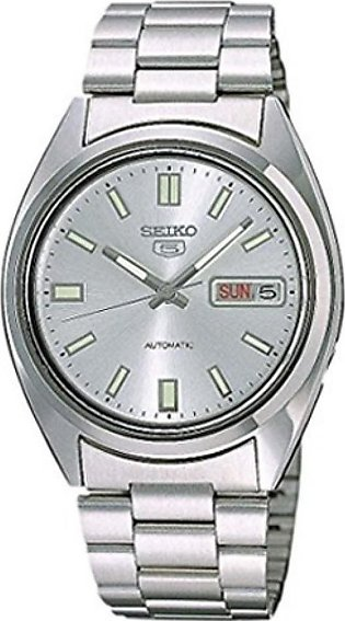 Seiko 5 Men's Watch Silver (SNXS73K)