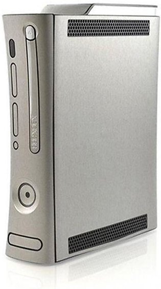 Happy Dukaan Brushed Metal Texture Skin For Xbox 360 Grey