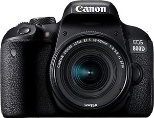 Canon EOS 800D DSLR Camera With 18-55mm IS STM Lens - International Warranty