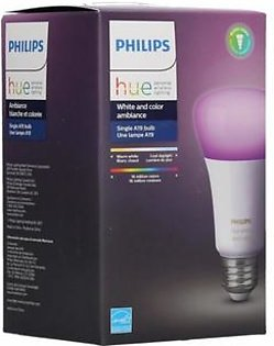 Philips Hue A19 White And Color LED Bulb