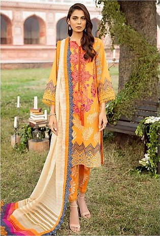 Charizma Spring/Summer Lawn Collection 2020 3 Piece (SS-06)