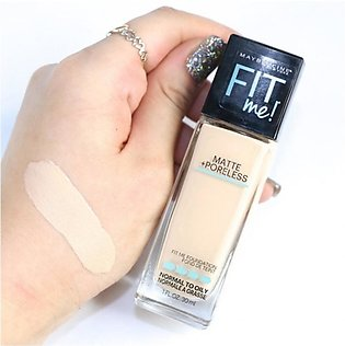 Maybelline Fit Me Matte + Poreless Foundation - 112 Natural Ivory