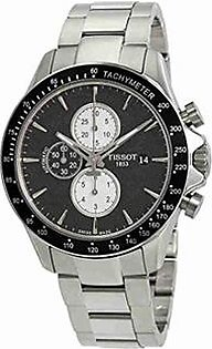 Tissot V8 Chronograph Men's Watch Silver (T1064271105100)