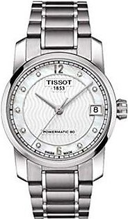 Tissot Men's Watch Silver (T0872074411600)