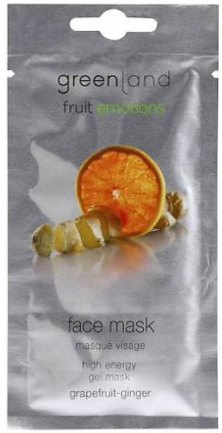 Greenland Bodycare Fruit Emotions Face Mask Grapefruit Ginger 10ml