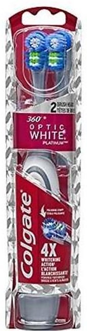 Colgate 360 Optic White Platinum Electric Toothbrush With Head