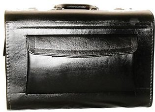 SubKuch Leather Medical Bag Black (UP-0184)