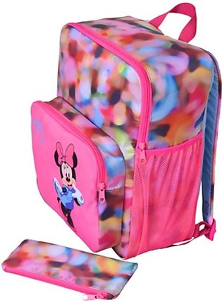 Maiyaan Mininie Mouse School Bag For Kids Pink