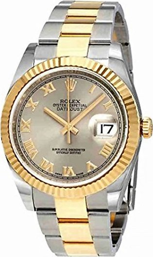 Rolex Datejust 36 Men's Watch Yellow Gold (116233RRO)