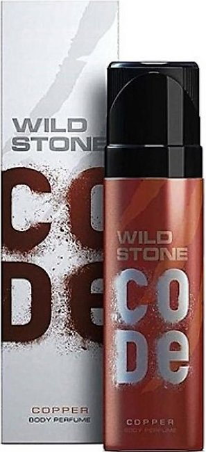 Kureshi Collections Wild Stone Code Copper Body Spray For Men 120ml