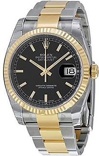 Rolex Datejust Men's Watch Yellow Gold (116233BKSO)
