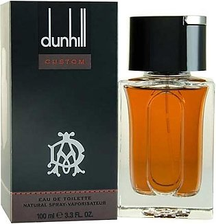 Dunhill Custom Eau De Toilette for Men 100ml