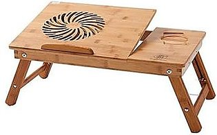 Iqbal Traders Laptop Table with USB Cooling Fan