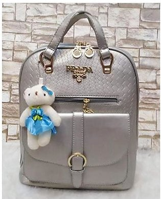 Shopping Gallery Backpack For Women Grey