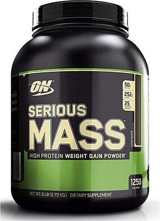 ON Optimum Nutrition Serious Mass Weight Gain Protein Powder Chocolate 2.72kg