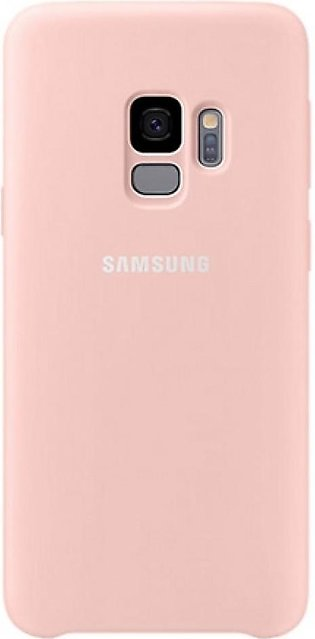 Samsung Silicone Pink Cover For Galaxy S9