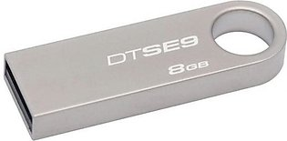 Kingston DataTraveler 8GB USB 2.0 Silver (DTSE9/8GB)