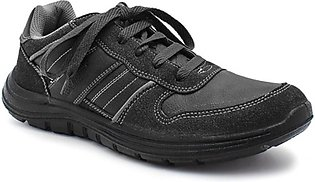 Servis Ndure Sports Shoes For Men Black (ND-TR-0122)