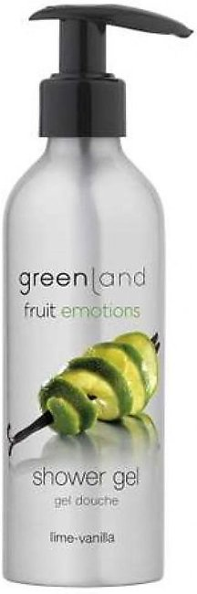 Greenland Bodycare Fruit Emotions Shower Gel Lime Vanilla 200ml