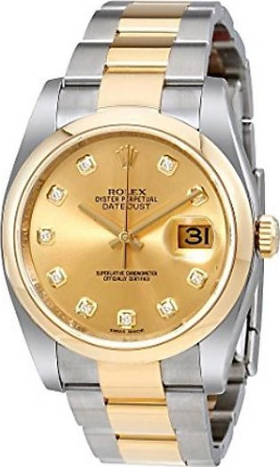 Rolex Datejust 36 Automatic Men's Watch Yelow Gold (116203CDO)