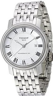 Tissot T-One Men's Watch Silver (TIST0384301103700)