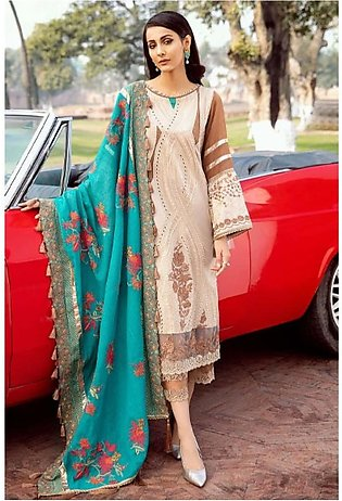 Charizma Spring/Summer Lawn Collection 2020 3 Piece (SS-02-A)