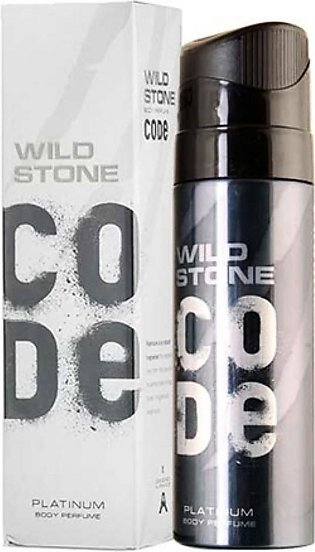 Kureshi Collections Wild Stone Code Platinum Body Spray For Men 120ml