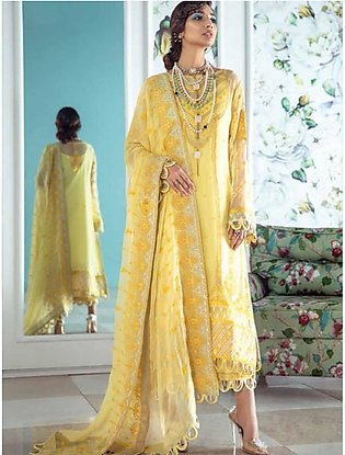 Gul Ahmed Summer Premium Collection 2020 3 Pieces (LE15)