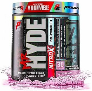 Prosupps Mr. Hyde NitroX Pre-Workout Cotton Candy 230gm