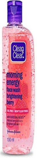 Clean & Clear Brightening Berry Foaming Face Wash 100ml