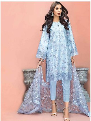 Gul Ahmed Summer Premium Collection 2020 3 Pieces (PM337)