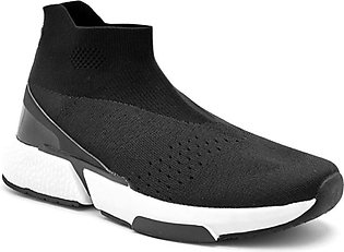 Servis Ndure Sporty Shoes For Men Black (ND-TR-0145)