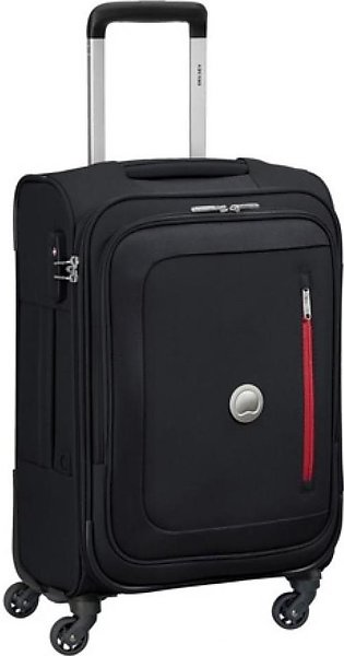 "Delsey Oural 4W 21"" Trolley Cabin Small Black (352880100)"