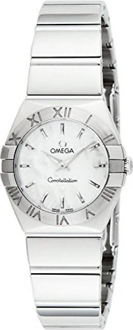 Omega Constellation Women's Watch Silver (123.10.24.60.05.002)