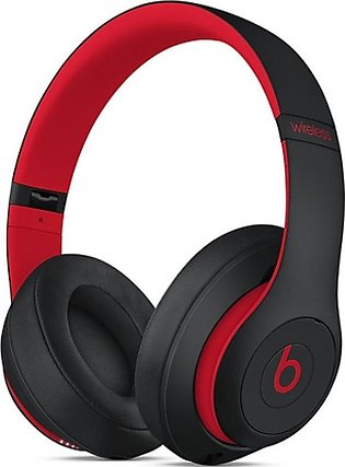 Beats Studio3 Decade Wireless Bluetooth Over-Ear Headphones Black-Red