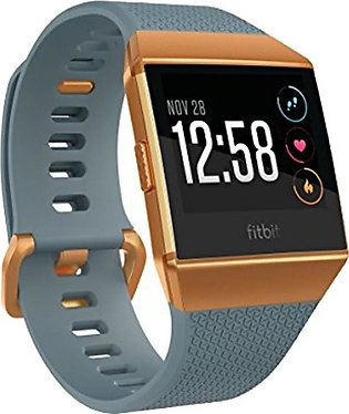 Fitbit Ionic Smartwatch Slate Blue/Burnt Orange
